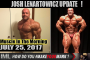 LENARTOWICZ UPDATE! - Muscle In The Morning July 25, 2017