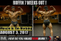 RUFFIN 7 WEEKS OUT - Muscle In The Morning August 3, 2017