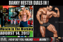 HESTER DIALS IN!  - Muscle In The Morning August 14, 2017