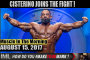 CISTERINO JOINS THE FIGHT!  - Muscle In The Morning August 15, 2017