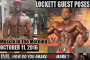 LOCKETT GUEST POSES ! - Muscle In The Morning October 11, 2016