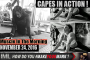 CAPES IN ACTION! - Muscle In The Morning November 24, 2016