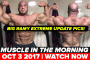 Big Ramy EXTREME Update Photos! Muscle in the Morning (10-3-17)
