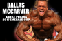 Dallas McCarver Guest Posing at the 2017 Emerald Cup!