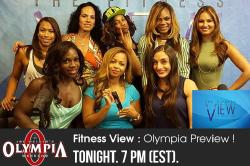 The Fitness View - 9/9/15 - Olympia Preview with Margie Martin, Jillian Reville, & Jenaya Hofer