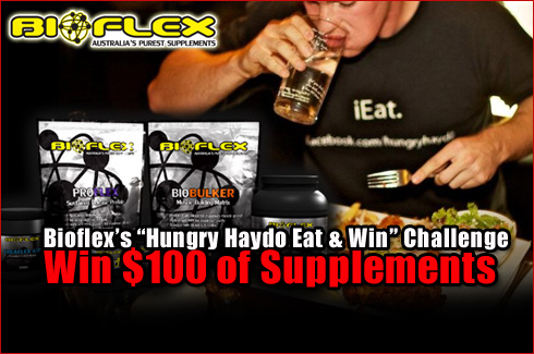 Hungry Haydo Bioflex Nutrition eat and win