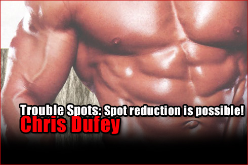 trouble spots spot reduction chris dufey