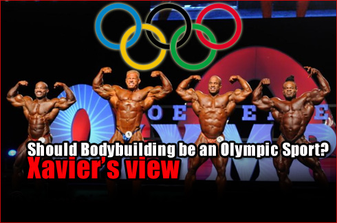 Bodybuilding Olympic Sport