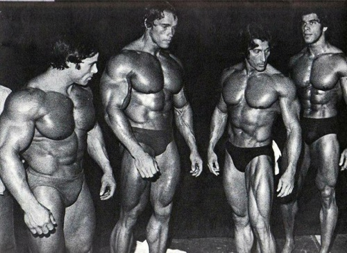 1974 olympia backstage
