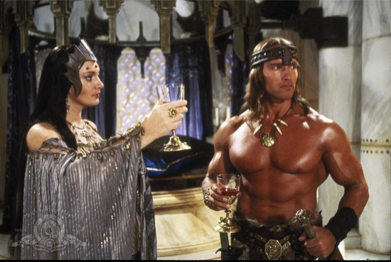 still-of-arnold-schwarzenegger-and-sarah-douglas-in-conan-the-destroyer-(1984)-large-picture