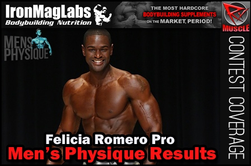 2014 Felicia Romero Pro Men's Physique Results