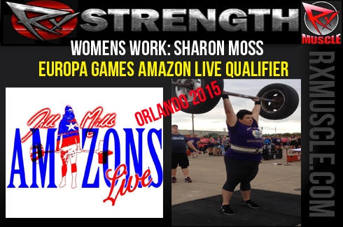 Women's Work: Europa Games Amazons Live Qualifier