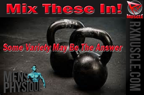 Kettlebells for Variety. Take your training to a new level!