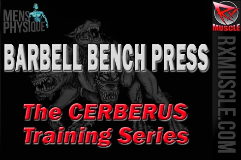 The Cerberus Training Series, where 3 trainers are better than 1: Barbell Bench Press