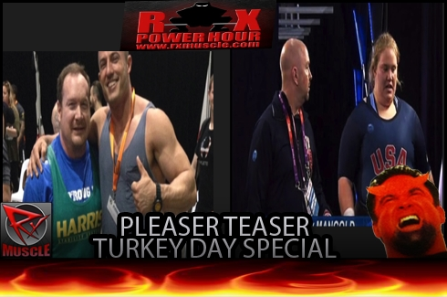 RX Power Hour Pleaser Teaser 11- 27 -14: Turkey Day Special