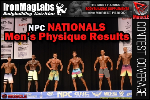 New Men's Physique Pro's, Results and Stage Pics from 2014 Nationals