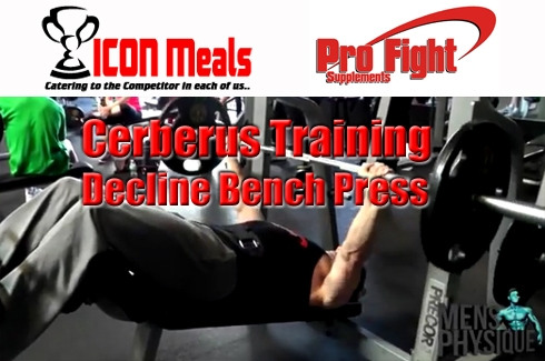 The Cerberus Training Series #5 Decline Barbell Bench Press