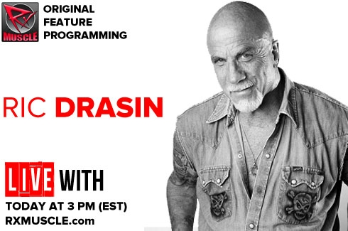 LIVE WITH RIC DRAISIN - 5/4/16 @ 3pm EST!