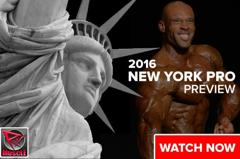 NY PRO PREVIEW - HEAVY MUSCLE TV!