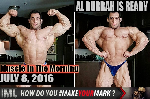 Muscle In The Morning!