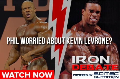 Iron Debate : Phil Worried About Levrone?