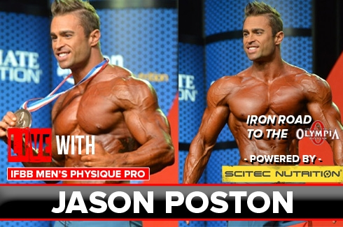 Live WIth: IFBB Pro Jason Poston