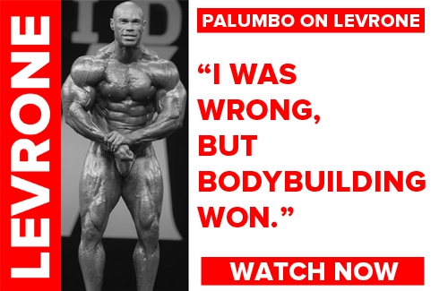 Palumbo on Levrone's Return