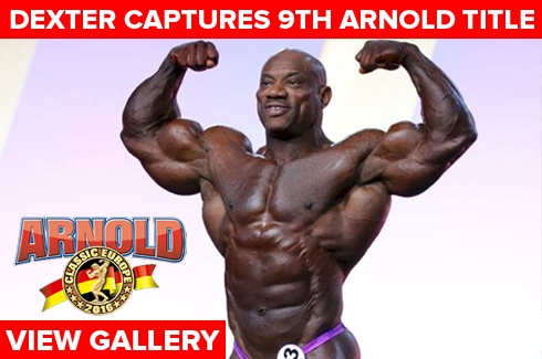 Dexter Jackson Wins Arnold Europe