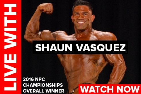 Live With Shaun Vasquez