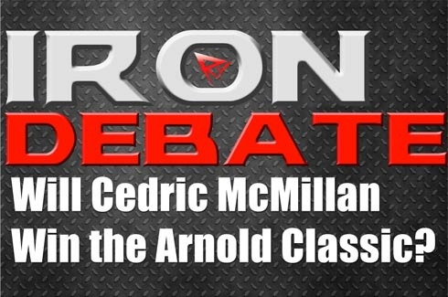 Iron Debate Will Cedric Win Arnold
