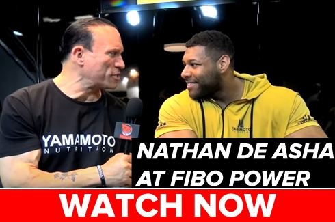 Nathan De Asha at FIBO Power