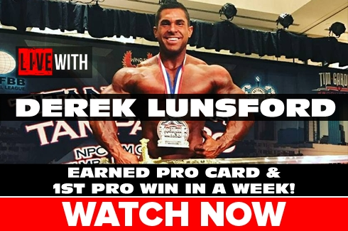 Live With Derek Lunsford