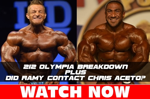 Olympia 212s, Ramy and Aceto