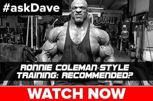AskDave Ronnie Coleman Style Training