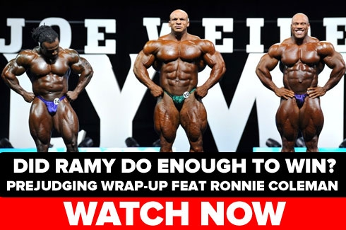 Prejudging Wrap Up