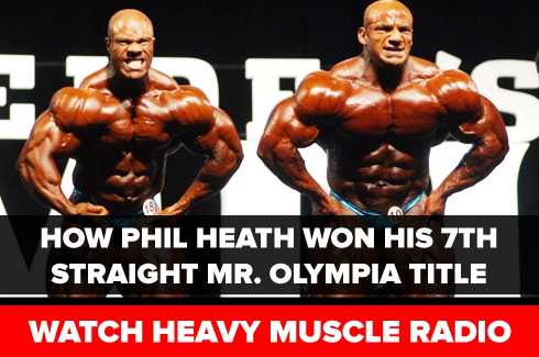 Phil Heath Wins 2017 Olympia