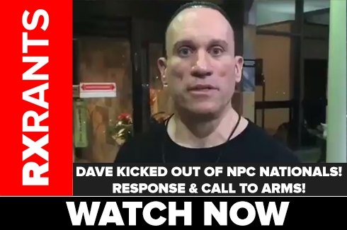 Dave Responds to Being Kicked out of NPC Nationals