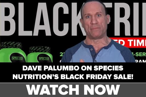 SPECIES Nutrition Black Friday Sale