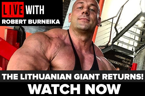 Live With Robert Burneika