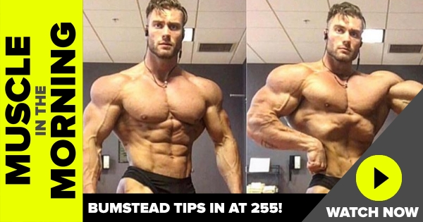 Chris Bumstead at 255 lbs!