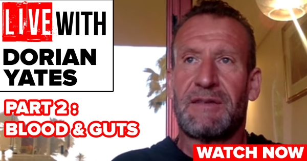 Dorian Yates Interview: Part 2