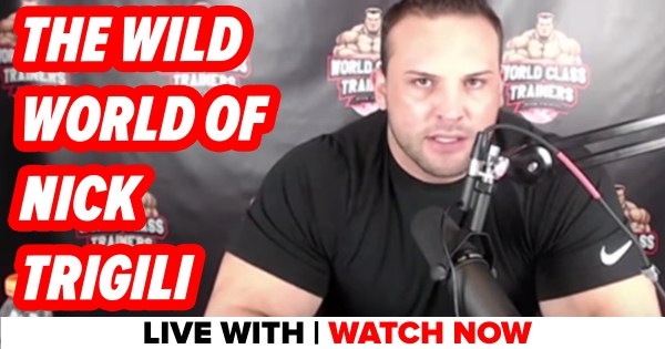 Live With Nick Trigili