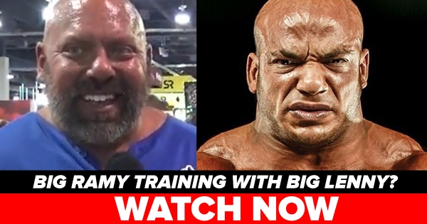Big Lenny Interview at Olympia 2018