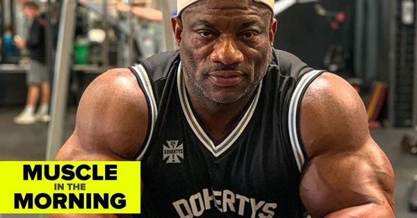 Dexter Jackson Muscle in the Morning