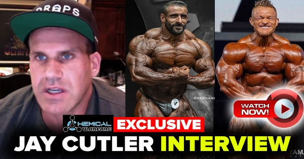 Jay Cutler Interview (Part 1) Powered by Chemical Warfare