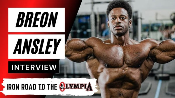 Breon Ansley on the 2020 Olympia