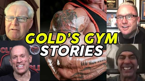 Ed Connor's Golds Gym Stories