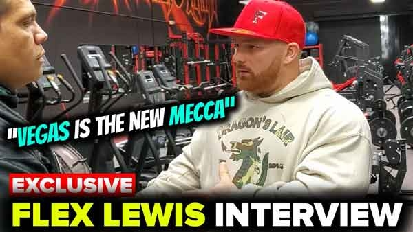 Flex Lewis at Dragon's Lair