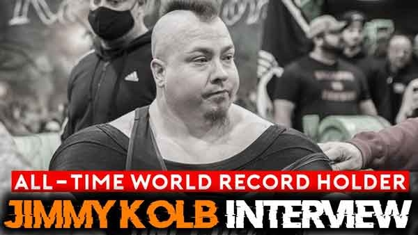 JImmy Kolb Bench Press Champion Interview