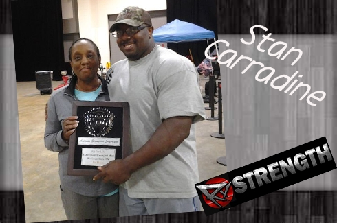 The Strength Series, Interview #7: American Pro Strongman Stan Carradine!